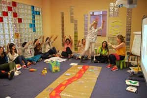 Smart Teachers Play More course in Alicante - teachers go ona bear hun!