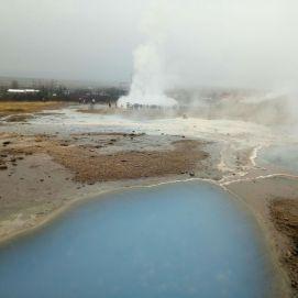 Iceland big geyser